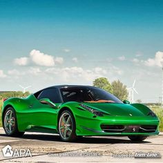 No words to describe this wrapped beauty by @trimline7b - @apaamerica Green…