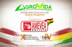 AGROVIDA distribuidor exclusivo de Grupo Drogavet presente en el AMEVEA-BOLIVIA 2016. Bolivia, Blog, Personal Care, Gift, Group, News, Blogging