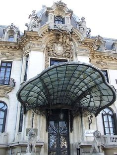 The Cantacuzino Palace / The George Enescu National Museum. Bucharest