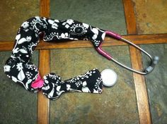 Thirty one strap wrap used to spice up your stethascope: GREAT idea for Nurse's Appreciation Day on May 6th!