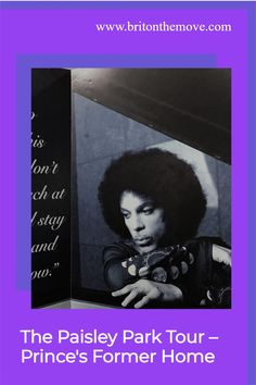 "Prince said about life, ""It means forever, and that is a mighty long time. But I am here to tell you; there is something else, The afterworld."" Prince may be in the afterworld, he left us forever with Paisley Park – his home and recording studio entertainment park. Here's what to expect when you visit Paisley Park.#paisleypark #paisleyparkprince #paisleyparktour #princespaisleypark #princepaisleypark #princeatpaisleypark #prince'spaisleypark #paisleyparkbyprince #princepaisleyparkhome"