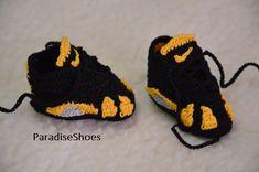 Nike Air Jordan 1 Crochet Baby Booties. See more. Jordan 14 BT bebé bebés  zapatos Retro jordan 14 de ganchillo