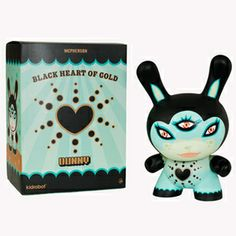 "Image of Black Heart of Gold Dunny 20"" Blue"