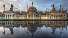 The Royal Pavilion - Brighton by Adam Gormley. Not actually a palace but still very impressive:-)