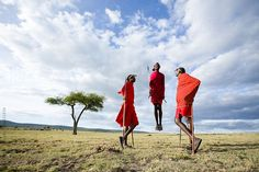 Maasai tribesmen in the Maasai Mara National Park. by Hugh Sitton - Stocksy United National Parks, Kenya Africa, The Unit, Stock Photos, Image, State Parks