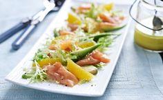 Lachs-Avocado-Salat