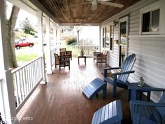 A must have!! Large front and back porch.