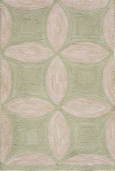 Design #1002Y American Hooked Rug from The New England Collection.