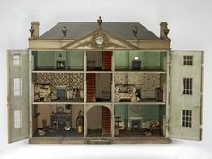 a peek inside May Foster's house from the Victoria and Albert Museum in London