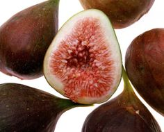 """A striking addition to the landscape, the Black Mission fig tree (Ficus carica """"Black Mission"""") produces delicate edible figs with a black exterior and sweet pink flesh. The tree . Bonsai Seeds, Tree Seeds, Indoor Fig Trees, Potted Trees, Black Mission Fig, Fresco, Growing Fig Trees, Container Plants, Behance"""