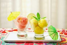 3 Spiked sorbet recipes