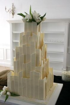 Wedding Cake :)  Cakes by Wade by grasspinto