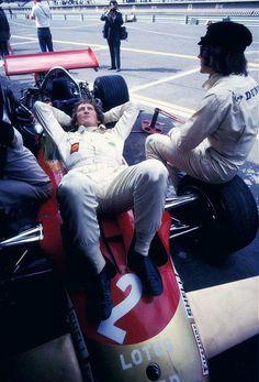 Jochen Rindt & Jackie Stewart