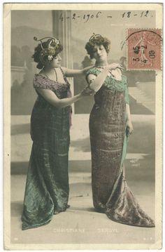Christiane and Sergyl | CHRISTIANE & SERGYL_SIP. 5019. Moulin Rouge. Photo Waléry