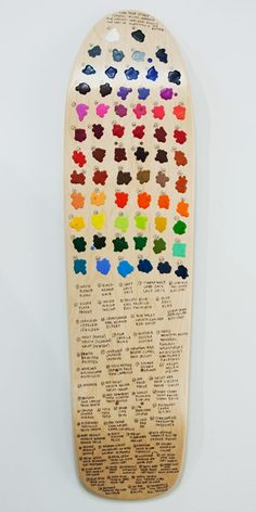 Colors skateboard decks from the Good Wood Exhibit Want to discover thousands of other boards ? Follow me