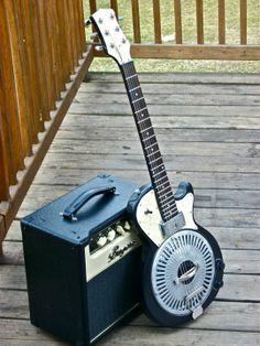 Keith D. Osterberg's Tuxedo Junction Les Paul Resonator