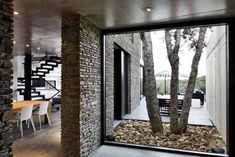 A House Like A Stone Fortress by Architect Marta Garcia-OrteDesignRulz19 October 2012Stone, wood and glass? I love the architects that know how to combine minimalist characteristics with robust, heavy elements.... Architecture Check more at http://rusticnordic.com/a-house-like-a-stone-fortress-by-architect-marta-garcia-orte/