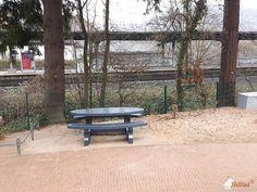Picknickset Standaard Antraciet Ovaal bij Schulkinderhaus Lorsbach in Hofheim-Lorsbach