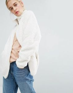Buy Monki Fleece Jacket at ASOS. With free delivery and return options (Ts&Cs apply), online shopping has never been so easy. Get the latest trends with ASOS now. Monki, Fashion Online, Asos, Normcore, Turtle Neck, Hoodies, Sweaters, T Shirt, Shopping