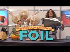 """Weird Al + Conspiracy Theories = FOIL: A Parody of Lorde's """"Royals"""" [Music Video]"""