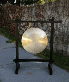 18 inch Wind Gong on Black Pat Chang Stand w/ Mallet by Gongs Unlimited. $505.00. Oh! Sweet 18 inch Wind Gong - made to crash and splash and yet be deep sounding! 18 inch Wind Gong, you are like a diver off the high dive, competing at the Olympics, rippling muscles and focused stare, confounding us why you have turned what was once a Pirate Ship Plank, into a board from which you twist, rotate, and drop in artistic manner. Oh yes, you are an Olympian 18 inch Wind Gong!