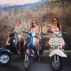 Beautiful Ladies in a Beautiful #Rome #Vespa #Tour | Flickr – Condivisione di foto!