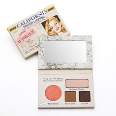 theBalm cosmetics at Kohl's - Shop the full line of cosmetics products, including this theBalm Autobalm California Face Palette, at Kohl's. Body Makeup, Beauty Makeup, Eye Makeup, Makeup Brushes, Face Palette, Eyeshadow Palette, Makeup Items, Makeup Brands, The Balm Makeup