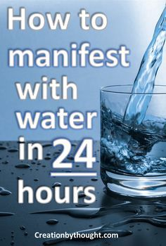 Learn how to manifest with two glasses of water using the law of attraction. using water is a great law of attraction tip that the secret never mentions. people have reported seeing there manifestation in 24 hours! Manifestation Law Of Attraction, Law Of Attraction Affirmations, Manifestation Journal, Law Of Attraction Money, Law Of Attraction Quotes, Way Of Life, The Life, Mental Training, Attract Money