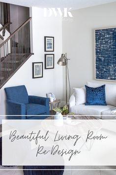 Living Room Stands, Blue Living Room Decor, My Living Room, Living Room Chairs, Home And Living, Living Room Designs, Living Room Furniture, Living Spaces, Living Room Flooring