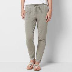 4b479c952547a Petite SONOMA Goods for Life™ Beach Fleece Cuffed Pants