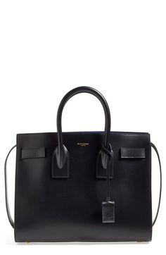 Saint Laurent  Small Sac de Jour  Calfskin Leather Tote available at   Nordstrom Nordstrom 6a695466bc3c1