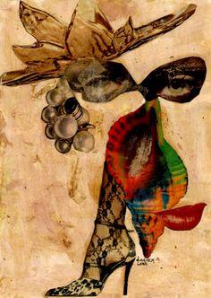 20-TESOROS del COLLAGE.  Pintura Mixta Collage.  Tamaño 30x21 cm.    http://www.artmajeur.com/es/artist/carmenluna/collection/tesoros-del-collage/1229405