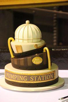 FABULOUS STEAMPUNK WEDDING CAKES | Our wedding cake :) Thanks to Ab Fab Cakes. This beautiful Steampunk ...