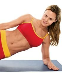 Midsection exercising  Try these essential exercises for a marvelous midsection. From Muscle Fitness Her's