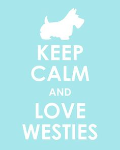 I have 2 westies. Not sure if they are calming at times!