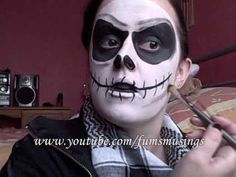 Jack Skellington makeup