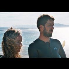 """Kate et Clovis ❤ , """"Le surf à un c'est bien , le surf à deux c'est mieux"""" @clovisandeasy  #bidart #ambassadeurs #surferlovers Surf, Photo And Video, Videos, Fictional Characters, Instagram, Home, Surfing, Surfs, Fantasy Characters"""