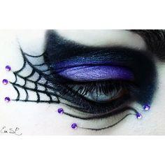 20 Cool Halloween Eye Makeup Ideas | Halloween makeup, Fairy ...