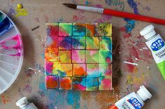 Journey into Creativity: Colorful cube puzzle