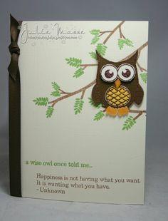 cute owl card #psychopomp #owls