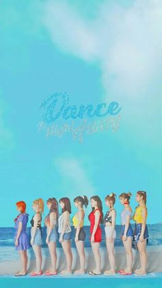 If there's one interesting group that debuted in the KPOP industry in the more recent generation, it would be TWICE. TWICE is a South Korean [. K Pop, Twice Dahyun, Tzuyu Twice, Kpop Girl Groups, Korean Girl Groups, Kpop Girls, Twice What Is Love, Oppa Gangnam Style, Sea Wallpaper