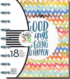 Mambi Happy Planner!!!!2015-16 Planner - Good Things Are Going To Happen
