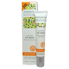 ANDALOU NATURALS EYE SERUM,LUMINOUS, .60 FZ -- Continue to the product at the image link. (This is an affiliate link and I receive a commission for the sales)