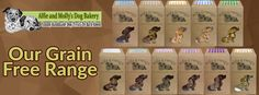 Alfie & Molly's Dog Bakery - Homemade Natural, Healthy Dog Treats & Biscuits