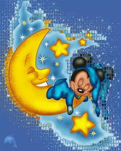 Cute Good Night and Sweet Dreams GIFs with Quotes Cute Good Night, Good Night Sweet Dreams, Good Night Image, Good Night Quotes, Good Morning Good Night, Good Night Greetings, Good Night Wishes, Nighty Night, Baby Mickey