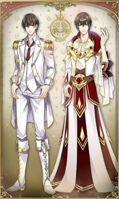 Omg! I thought Teo, Ikky and Hue had it bad in their girly god form clothes, but Karno looks like something from renisance fair! Who designed these bad outfits? Scorpio is still winning the god form battle! Star Crossed Myth