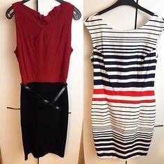 Postanowiłam przewietrzyć szafę na wiosnę i mam do sprzedania kilka sukienek m.in. te ze zdjęcia po lewej mango po prawej reserved. Linki do aukcji na allegro znajdziecie na moim fb #dresses #reserved #mango
