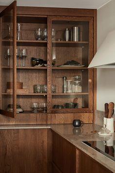 Home Interior, Interior Design Kitchen, Modern Interior, Home Decor Kitchen, Kitchen Furniture, Home Kitchens, Beddinge, The Home Edit, Built In Furniture