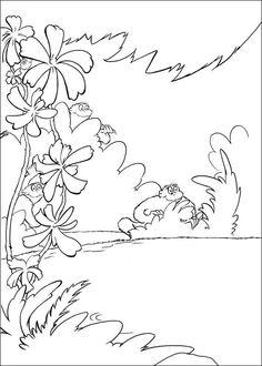 Horton Målarbilder för barn. Teckningar online till skriv ut. Nº 12