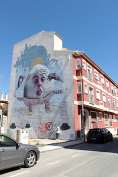 Freeuno in for Urban Art Festival of Mar Menor in Murcia, Spain.